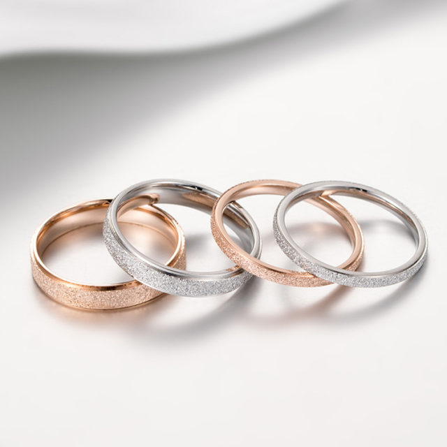 Classic Couple Engagement Rings