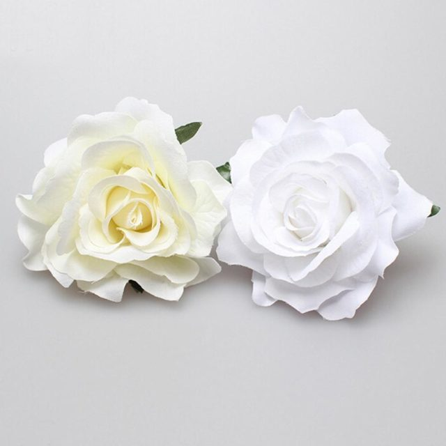 Cloth Flower Wedding Hair Pins