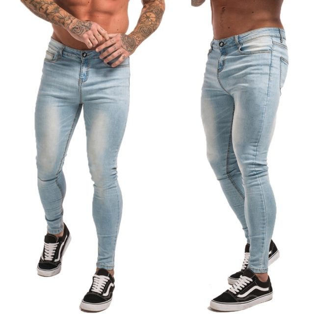 Men's Hip-Hop Style Stretch Jeans