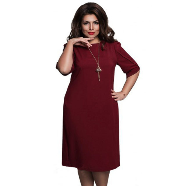 Women's Plus Size Casual Dress