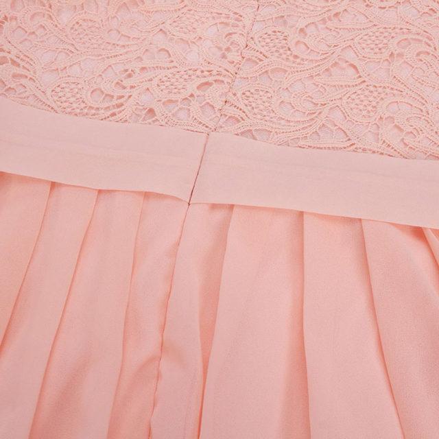 Women's Casual Sleeveless Lace Dress