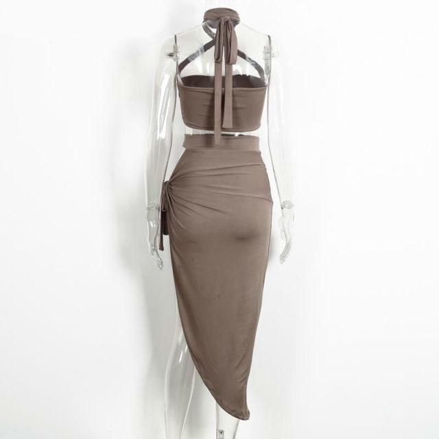 Cute Summer Asymmetrical Sleeveless Women's Party Dress