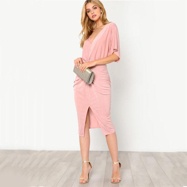 Women's Pastel Twist Dress