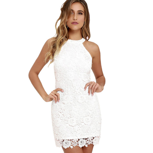 Women's Lace Elegant Party Dress