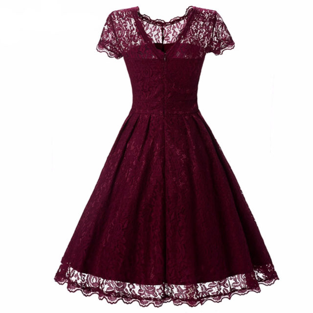 Women's Summer Lace Patterned Dress