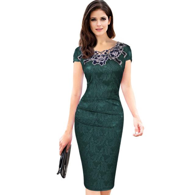 Women's Elegant Embroided Dress