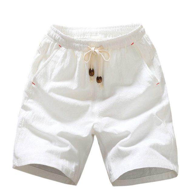 Men's Loose Cotton Shorts