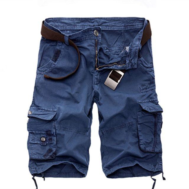 Men's Cotton Casual Cargo Shorts