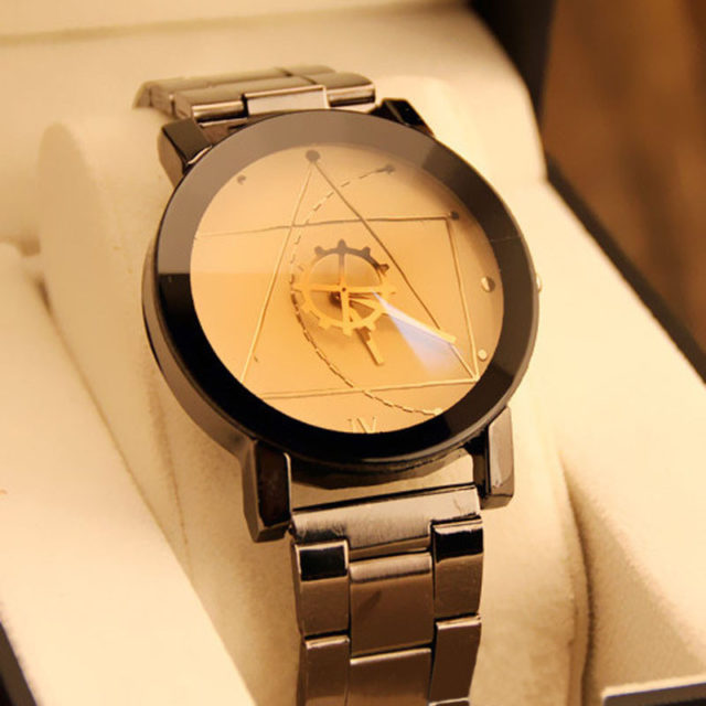 Luxury Men's and Woman's Stainless Steel Watch