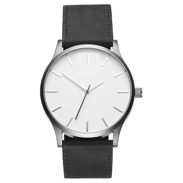 Men's Round Shaped Watch