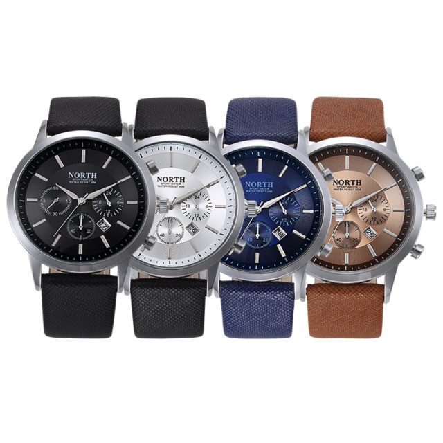 Men's Watches with Denim Band