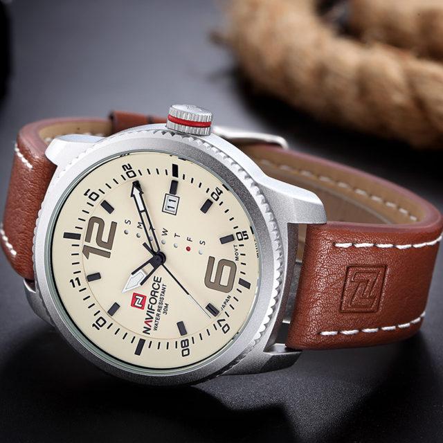 Men's Navy Style Sports Watch