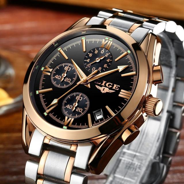 Elegant Quartz Wristwatches for Men