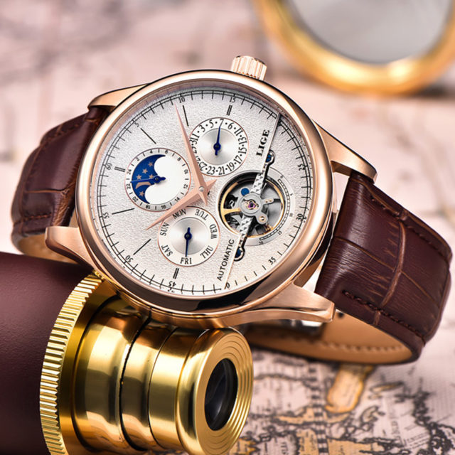 Mechanical Automatic Men's Skeleton Watches