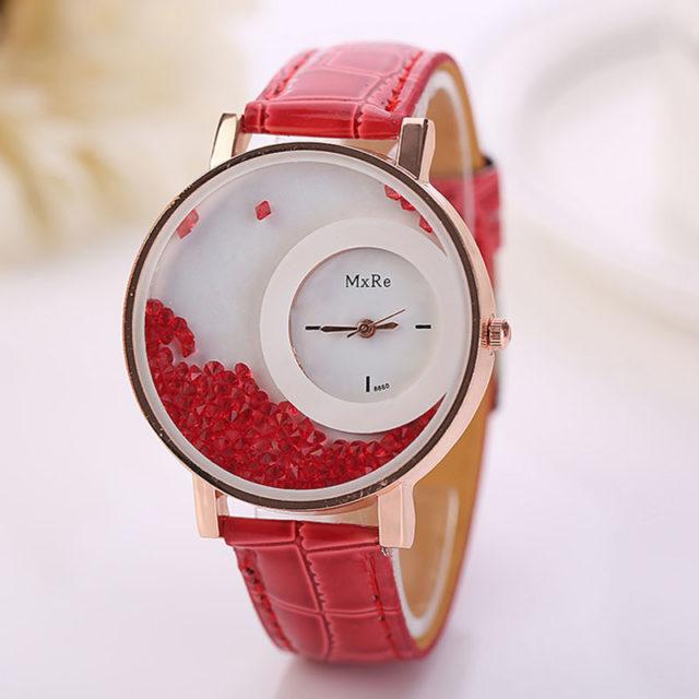 Women's Quicksand Crystal Watch
