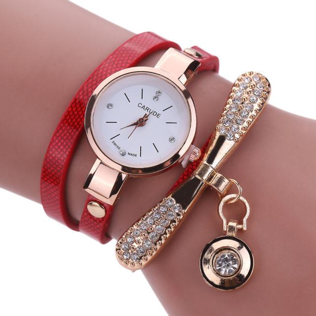 Fashion Metal Charm Bracelet Watches