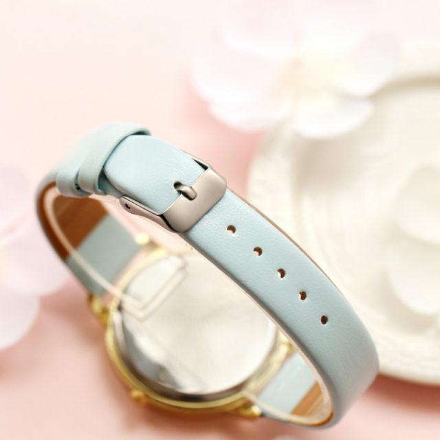 Elegant Floral Dial Women's Wristwatches