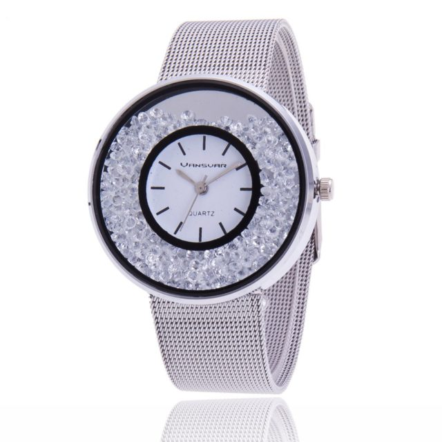 Women's Watches with Rhinestones Dial