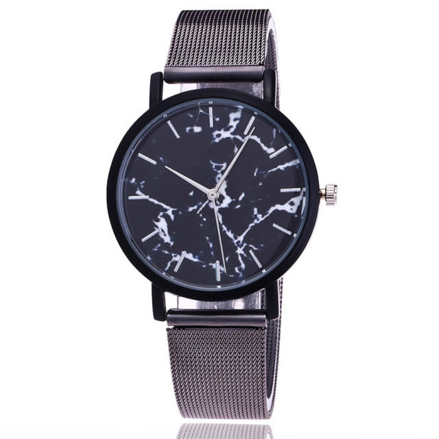 Women's Mesh Metal Wrist Watches