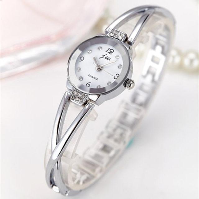 Women's Bracelet Watch with Rhinestones