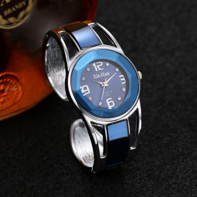 Elegant Women's Bangle Bracelet Watches