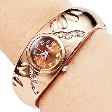 Crystal Rose Gold Bracelet Watches