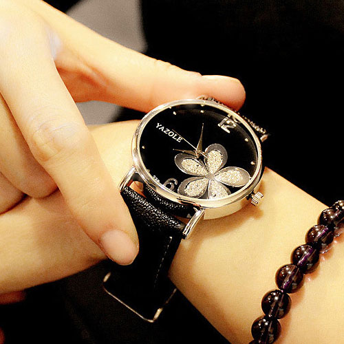 Women's Elegant Butterfly Printed Watches