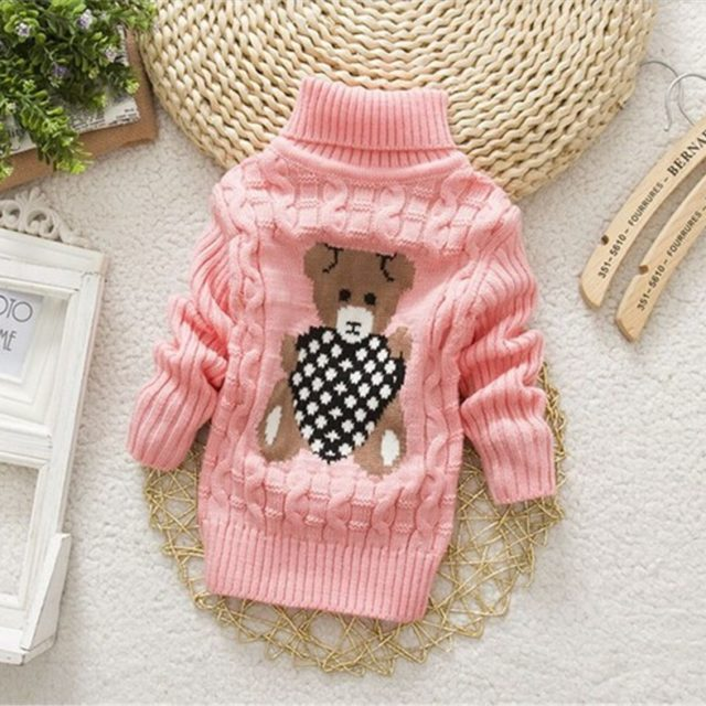 Baby Girl's Cute Warm Sweater