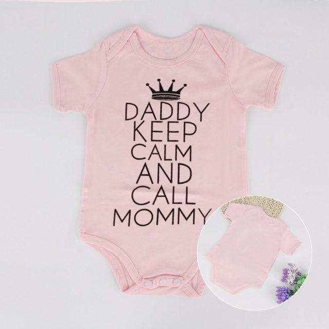 Baby Girl's Cute Breathable Cotton Bodysuit