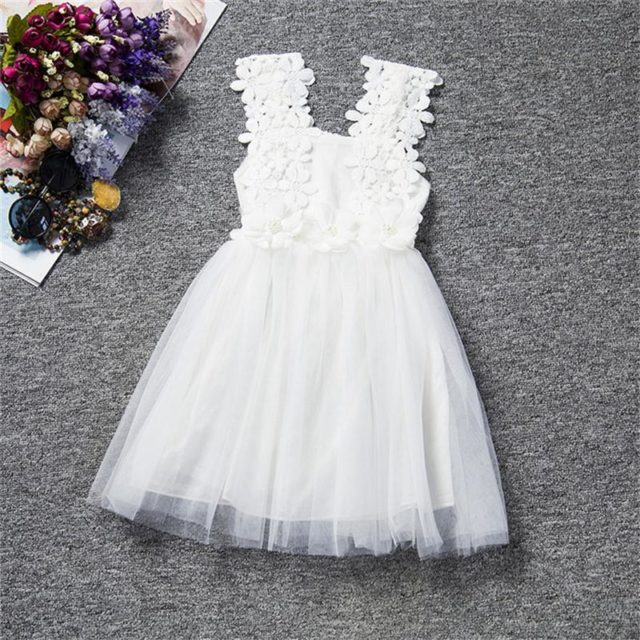 Gorgeous Floral Sleeveless Princess Dress