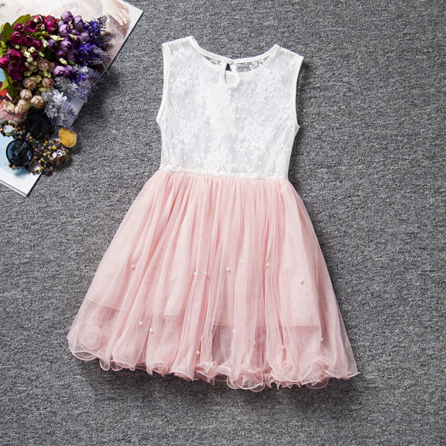 Summer Girl's Lace Party Dresses