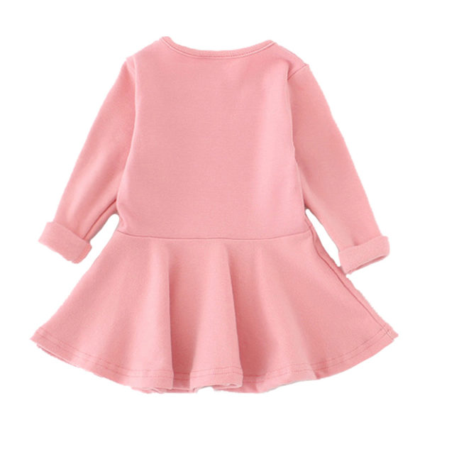 Girl's Solid Color Princess Dresses