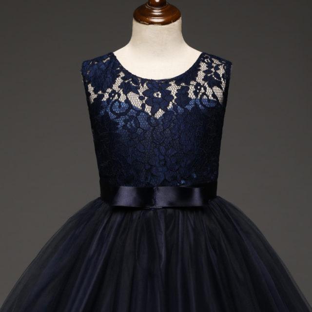 Elegant Girl`s Princess Style Dress