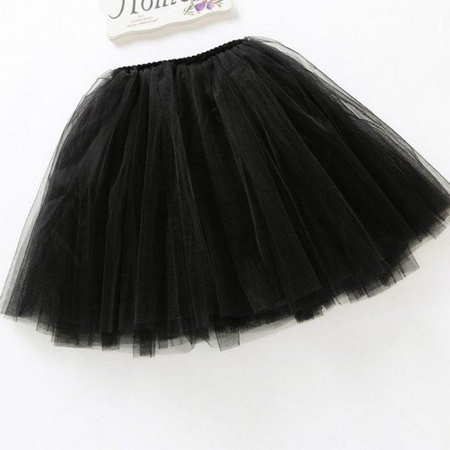 Luxury Knee-Length Bouffant Girl's Skirt