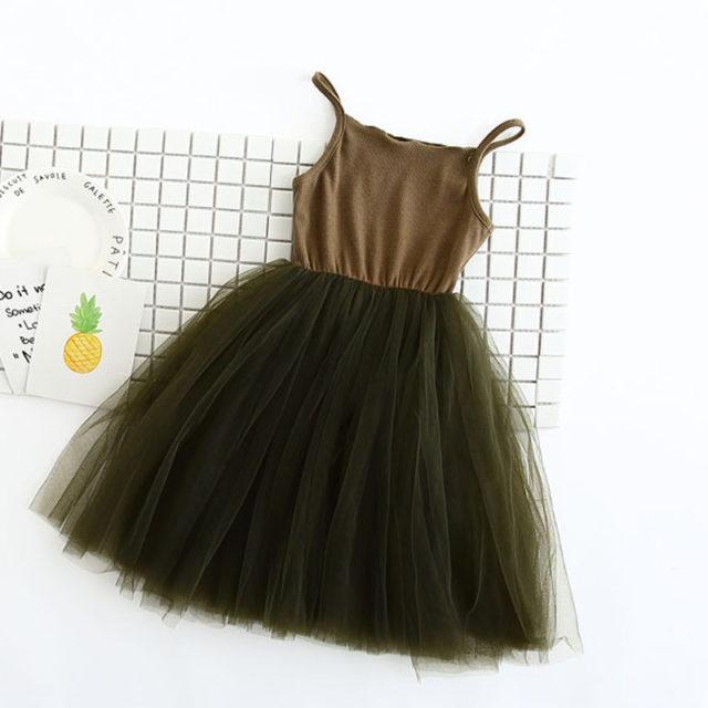 Girl's Ball Dress with Tutu Skirt