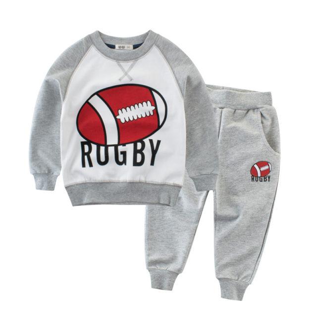 Boy's Sport Striped Suit