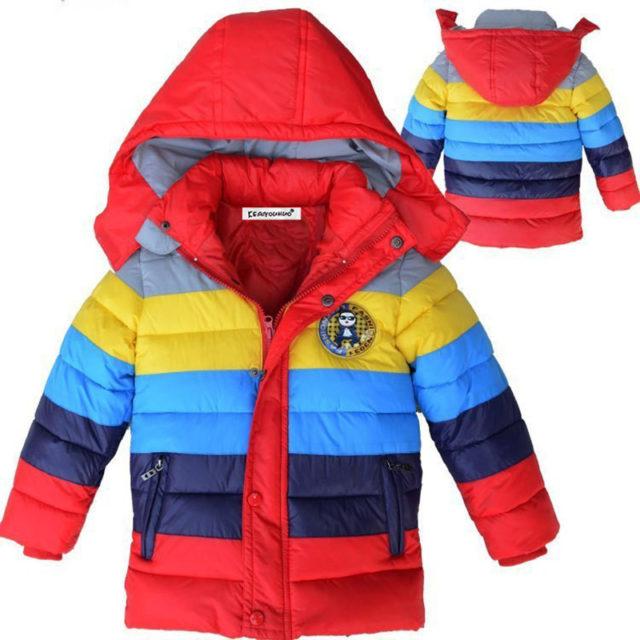 Boy's Winter Hooded Jacket
