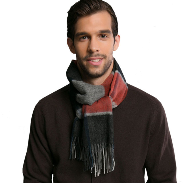 Winter Europe Style Men's Scarves