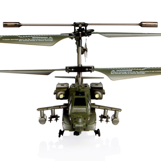 Military Shark Design RC Remote Control Helicopter