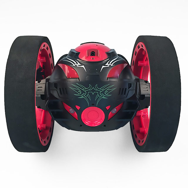 Remote Control Two-Wheel Bounce Car Toy