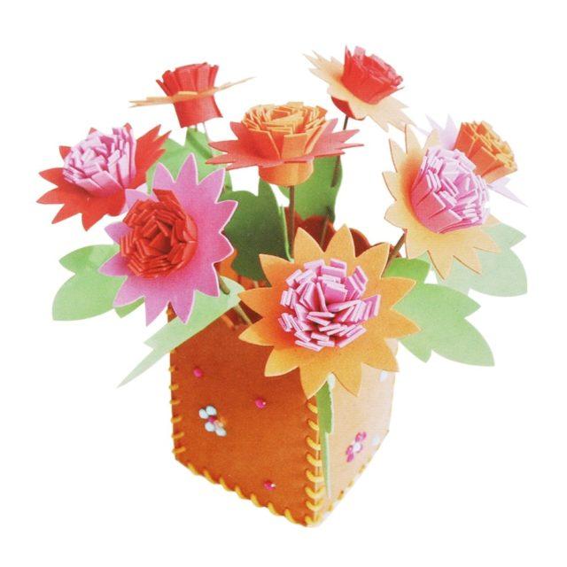 Cute Educational Handicraft Kid's DIY Flower Pot