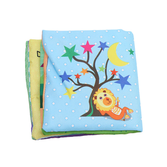 Baby's Educational Soft Book Toy