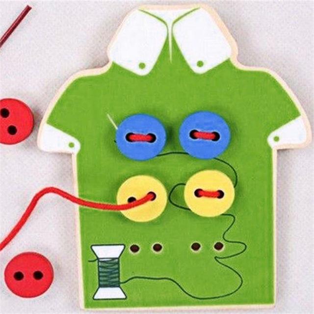 Entertaining Educational Wood Kid's Montessori Toy