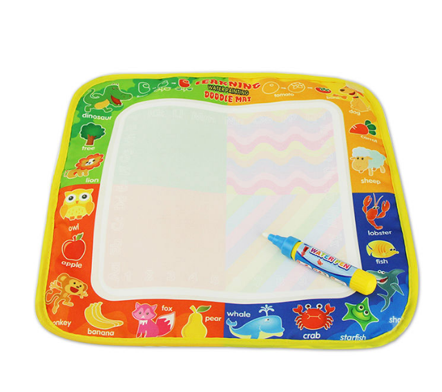 Non-Toxic Water Drawing Mat with Magic Pen for Kids
