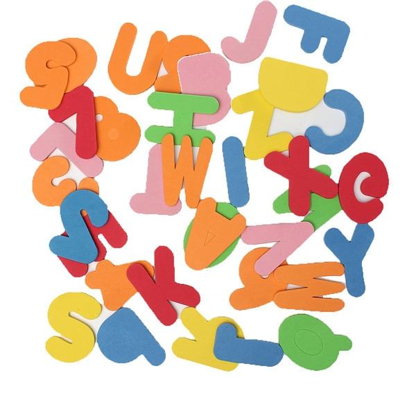 Cute Alphanumeric Educational Baby Bath Toy