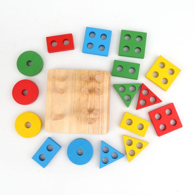 Geometric Sorting Board Toy