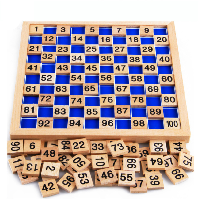 Montessori Education Wooden Math Toy