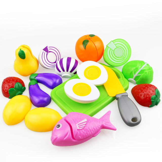 High Quality Set of Multicolor DIY Food