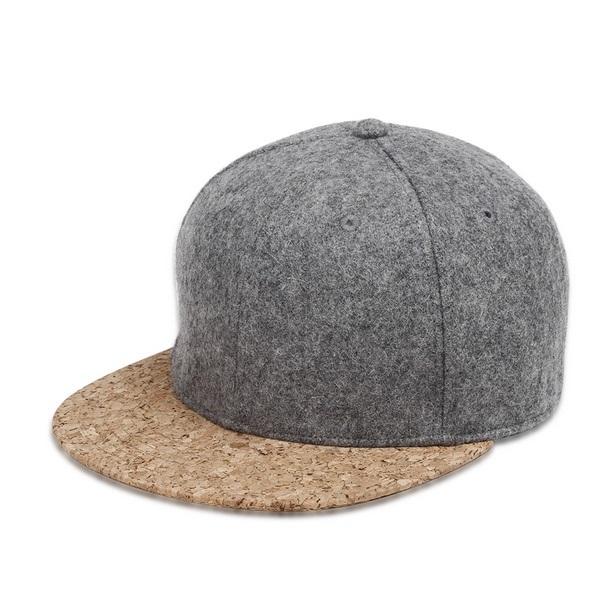 Creative Design Men's Cap with Cork Peak