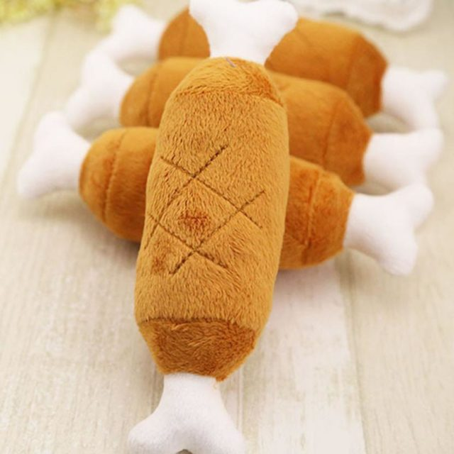 Velvet Chicken Leg Plush Toy